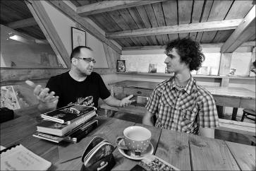 Adam Ondra - ze setkání vlezeckém centru Tendon Blok, foto: Petr Piechowicz