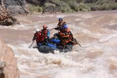 Lava Falls - vodácký vrchol celé expedice je tady!