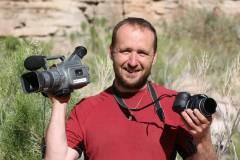 """Autor knihy """"Tři týdny v kaňonu"""" i filmového dokumentu """"V divokých peřejích Colorada"""" - Marek Hýža."""