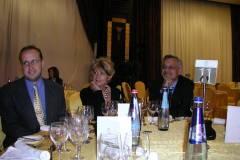 "Autor filmu ""V divokých peřejích Colorada"" Marek Hýža během slavnostního ceremoniálu festivalu Prix Circom Regional 2010 na Maltě."