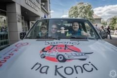 Martin Krejsa a Marek Hýža z Nadačního fondu Historie dobrodružství, Majkl a Pat