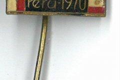 Expediční odznak výpravy Peru 1970.
