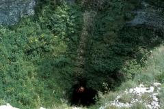 Vstup do jeskyně Spluga della Preta