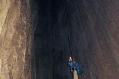 Vstupní vertikála -123 metrů
