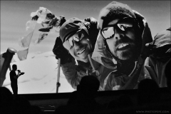 Háček představil ve více jak hodinové přednášce prvovýstup UFO line v severozápadní stěně Chamlangu