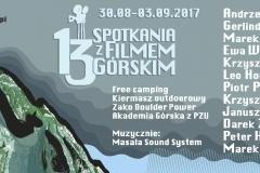 Oficiální plakát festivalu v Zakopaném.