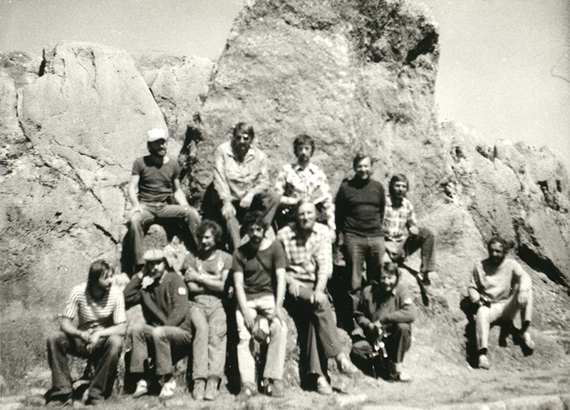 Společné foto expedice Apurimac Amazonas 1981
