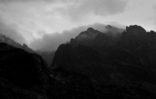 Kniha horské fotografie