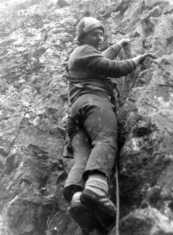Byl jsem spíše klasický horolezec se zálibou v lezení na písku...