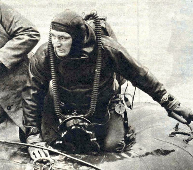 Vedoucí výpravy, zkušený potápěč Jan Daněk