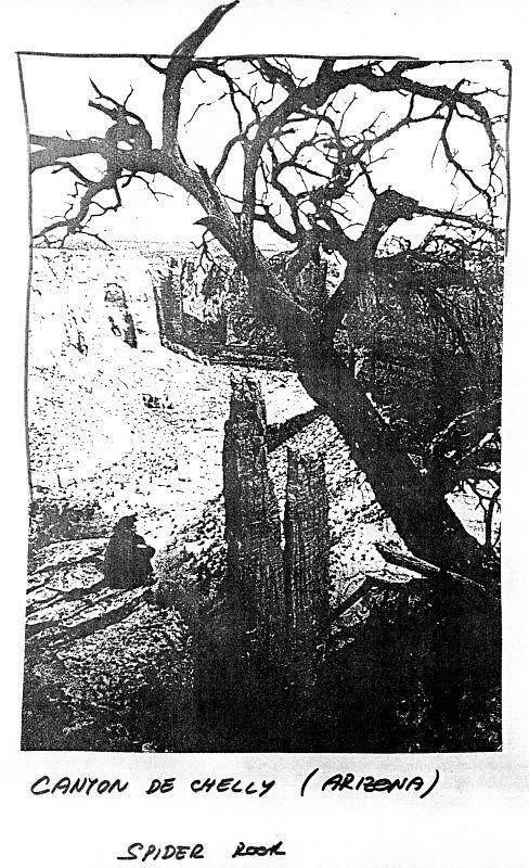 Canyon de Chelly (Arizona), Spider Rock