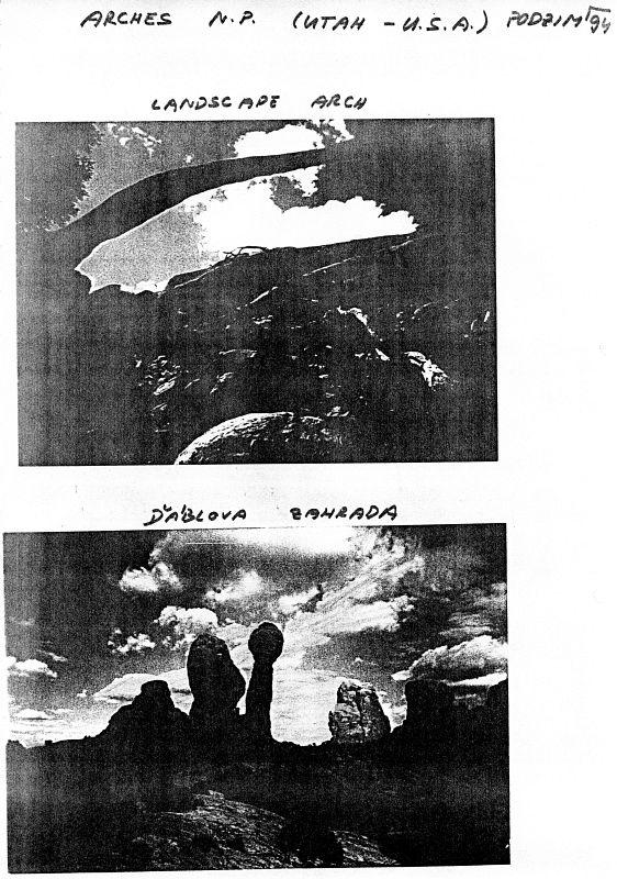 Arches N.P. (Utah), podzim 1994