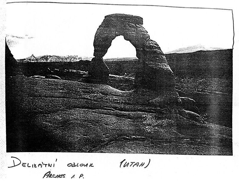 Delikátní oblouk, Arches N.P. (Utah)