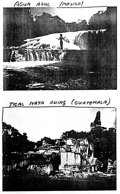 Agua Azul (Mexico)/Tical Mayan Ruins (Guatemala)