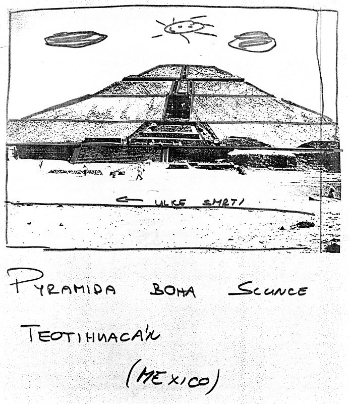 Pyramida Boha Slunce, Teotihuacán (Mexico)