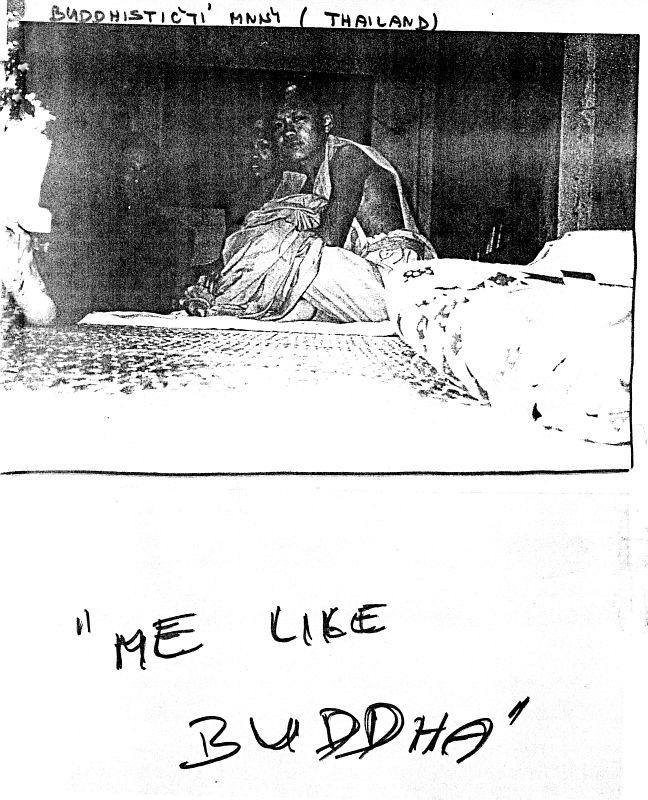 Me like Buddha (Thajsko)