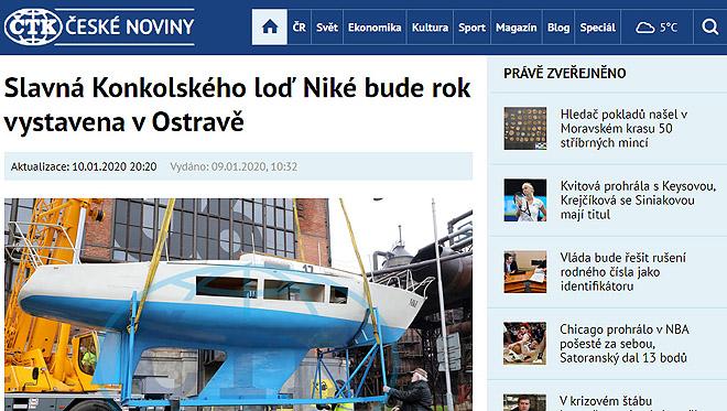 Odkaz na článek v Českých novinách