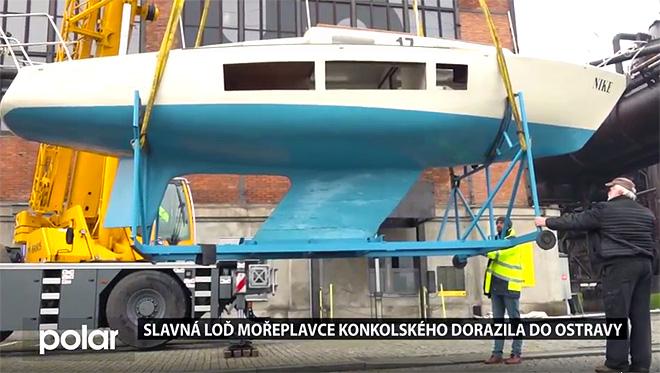 Odkaz na televizní reportáž moravskoslezské regionální televize Polar